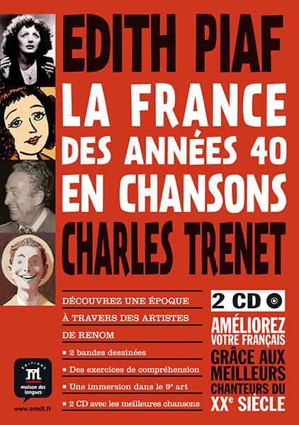 la france des annees 40 en chansons liedjes Frans A1-A2