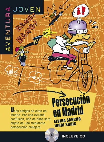 persecucion en madrid leesboekje Spaans middelbare school A1