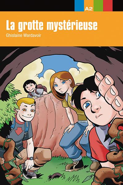 La grotte mysterieuse leesboekje Frans jongeren A2