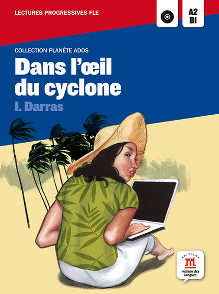 dans l'oeil du cyclone leesboekje Frans A2-B1
