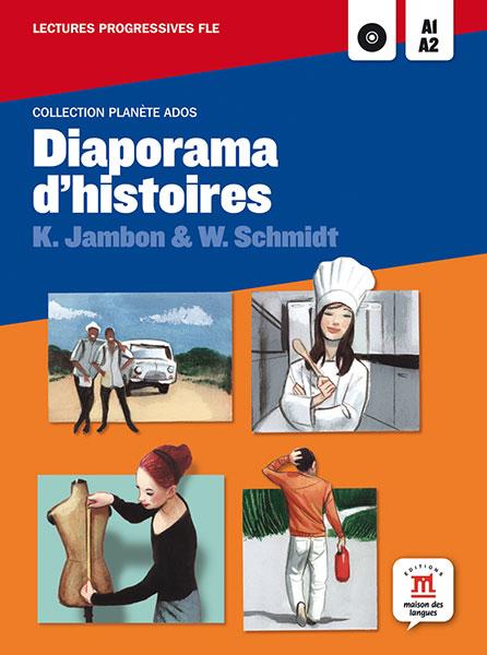 Diaporama d'histoires leesboekje Frans jongeren A1-A2