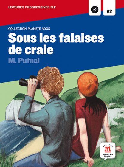 Sous les falaises de craie leesboekje Frans A2