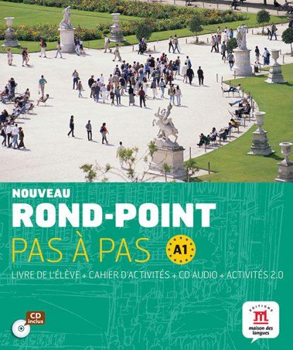 Nouveau Rond-Point pas a pas A1 Tekstboek