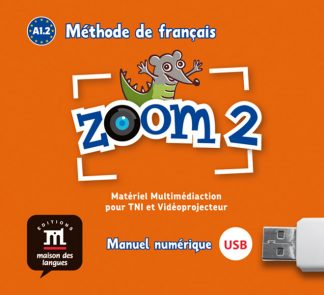 Zoom 2 USB stick Frans basisonderwijs A1.2