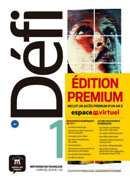 Défi 1 - Livre de l'élève + CD Version Premium