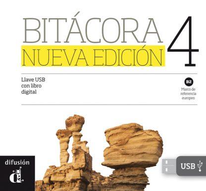 Bitácora 4 Nueva Edición - Llave USB con libro digital
