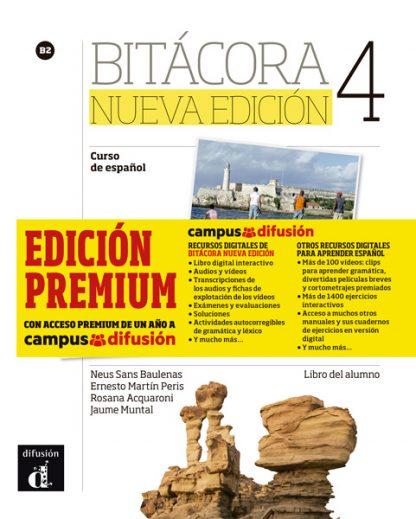 Bitácora 4 Nueva Edición - Libro del alumno + MP3 (Versión Premium)